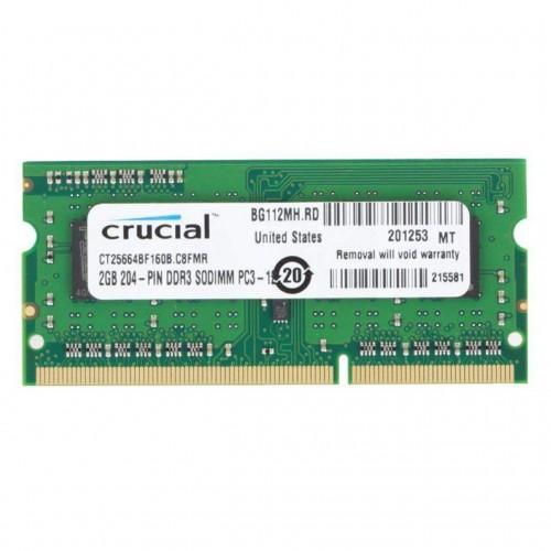 Crucial 2GB Ram DDR3L-1600 SODIMM - CT25664BF160B