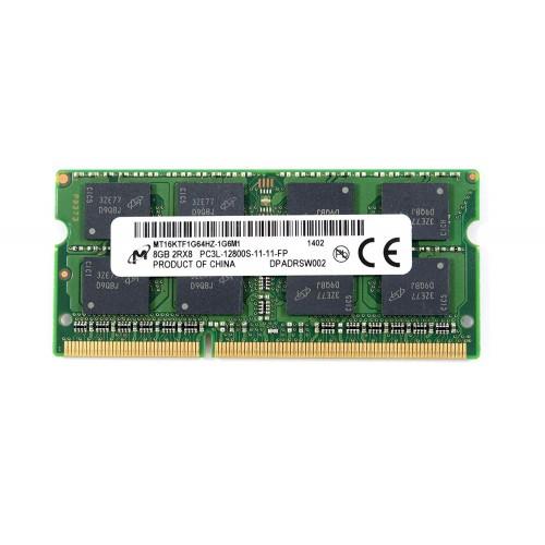 Crucial 8GB Ram DDR3L-1600-12800S-SODIMM-MT16KTF1G64HZ-1G6M1