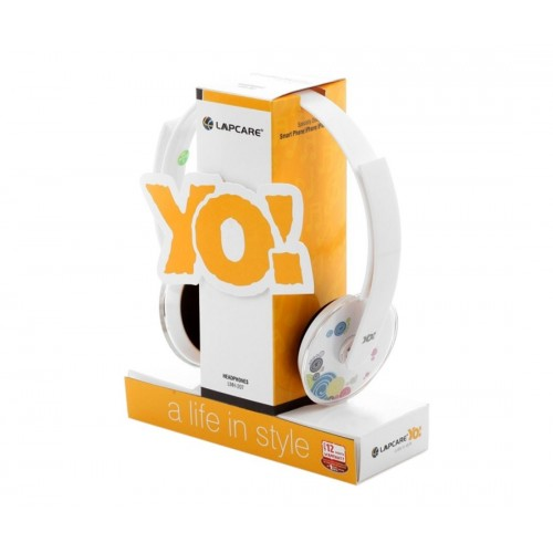 Lapcare Yo! Wired Multimedia headset-LMH 207