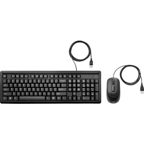 HP Wired Keyboard and Mouse 160