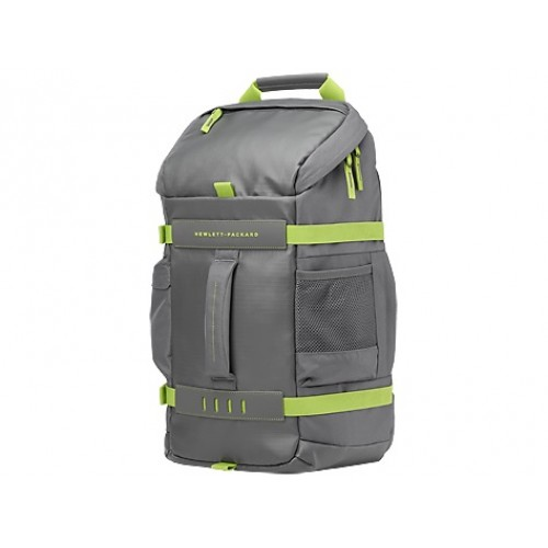 HP Green/Gray Odyssey Backpack (L8J89AA)