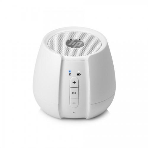HP White S6500 Wireless Speaker