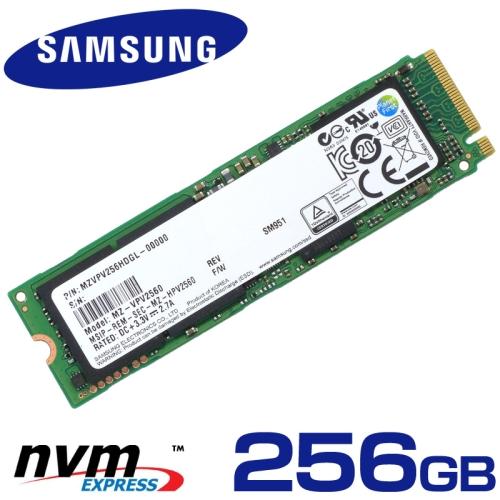 Samsung SM951 256GB M.2 SSD MZVPV256HDGL 2280