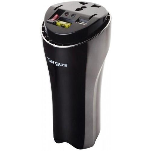 Targus AC Automotive 200W power inverter with USB fast charging port-APV018AP